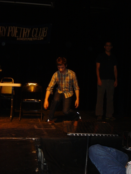 Clock, Deck, and Movement (Bowery Poetry Club)