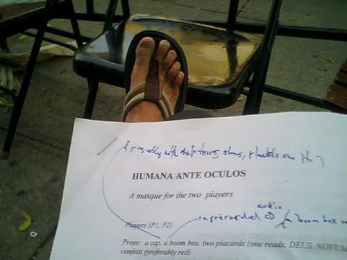 Humana Ante Oculos (draft)